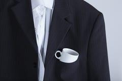 Jacket, circle, coffee Royalty Free Stock Photo