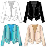 Jacket. Clothes collection. Royalty Free Stock Photos