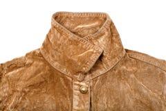 Jacket collar Stock Photo