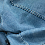 Jacket jean as texture background Stock Photos