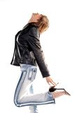 Jacket and jeans Stock Photos