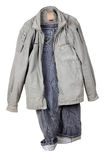 Jacket and jeans Stock Image