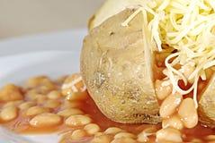 Jacket potato Stock Images