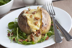 Jacket potato Royalty Free Stock Photography