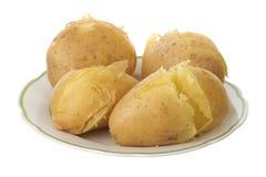 Jacket potato Stock Image
