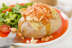Jacket Potato Royalty Free Stock Image