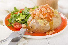 Jacket Potato Stock Photography