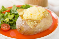 Jacket Potato Royalty Free Stock Photos