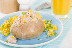 Jacket Potato Stock Image