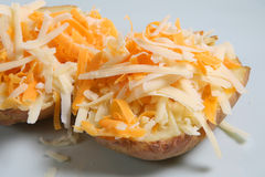 Jacket Potato & Cheese Royalty Free Stock Images