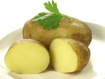 Jacket potatoes Royalty Free Stock Photography