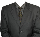 А jacket, a shirt, a tie. Royalty Free Stock Images