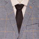 Jacket shirt and tie background Royalty Free Stock Photo
