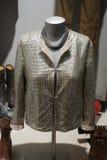 Jacket. Showcase interior fashion clothing Stock Images