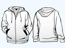 Jacket or sweatshirt  template Royalty Free Stock Photography