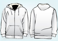 Jacket or sweatshirt  template Stock Photography