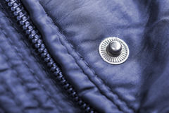 Jacket with zipper detail Royalty Free Stock Image
