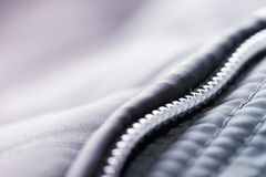 Jacket with zipper detail Stock Image