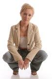 Jacket5 blond Photographie stock libre de droits