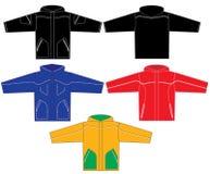 Jackets. Set of jacket design samples Royalty Free Stock Image