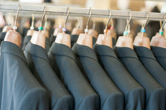 Jackets shop Stock Photo