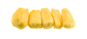 Jackfruit στο πιάτο Στοκ εικόνες με δικαίωμα ελεύθερης χρήσης