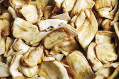 Jackfruit chips, close-up Stock Photo