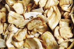 Jackfruit chips, close-up Stock Photo
