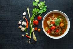 Jackfruit Curry, Thailand asia food Stock Photos