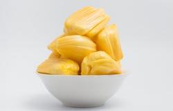 Jackfruit, thai fruit isolate on white background Stock Images