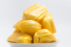 Jackfruit, thai fruit isolate on white background Royalty Free Stock Photo