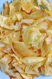 Jackfruit y placa Imagenes de archivo