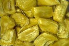 Jackfruits- fresh fleshy seeds stock photography