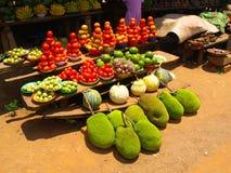 Jackfruits verdes Foto de archivo libre de regalías