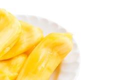 Jackfruits on white background Royalty Free Stock Photo