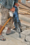 Jackhammer. Stockfotos