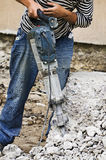 Jackhammer Royalty Free Stock Photo