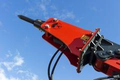 Jackhammer of construction machine Stock Photography
