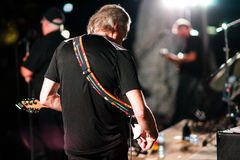 The Jackhammer performing at a Rock Concert - August 14, 2015 Royalty Free Stock Photo