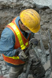 Jackhammer - At Work stock images
