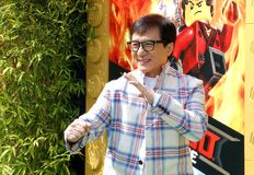Jackie Chan Lizenzfreies Stockfoto