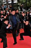 Jackie Chan. At the premiere of Sanguepazzo at the 61st Annual International Film Festival de Cannes. May 19, 2008 Cannes, France. Picture: Paul Smith / royalty free stock images