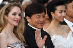 Jackie Chan stock images