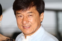 Jackie Chan fotografia de stock royalty free