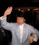 Jackie Chan. At the Toronto Film Festival royalty free stock photography