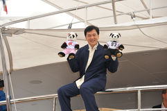 Jackie Chan fotografia de stock
