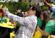 Jackie Chan. At the Los Angeles premiere of `The LEGO Ninjago Movie` held at the Regency Village Theatre in Westwood, USA on September 16, 2017 royalty free stock photo