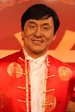 Jackie Chan's waxwork Madame Tussauds exhibit Stock Photography
