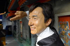 Jackie Chan wax stock photography