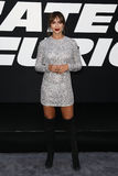 Jackie Cruz. NEW YORK-APR 8: Actress Jackie Cruz attends the premiere of `The Fate of the Furious` at Radio City Music Hall on April 8, 2017 in New York City Royalty Free Stock Image